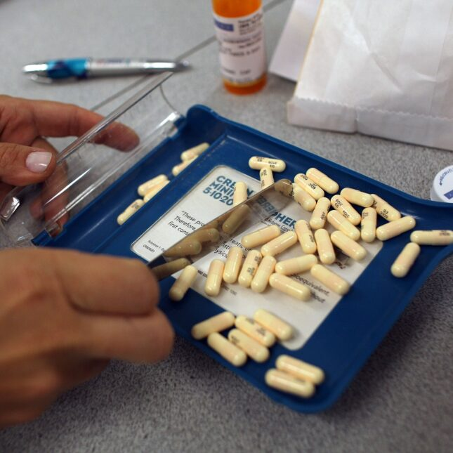 Antibiotic pills - pharmacy