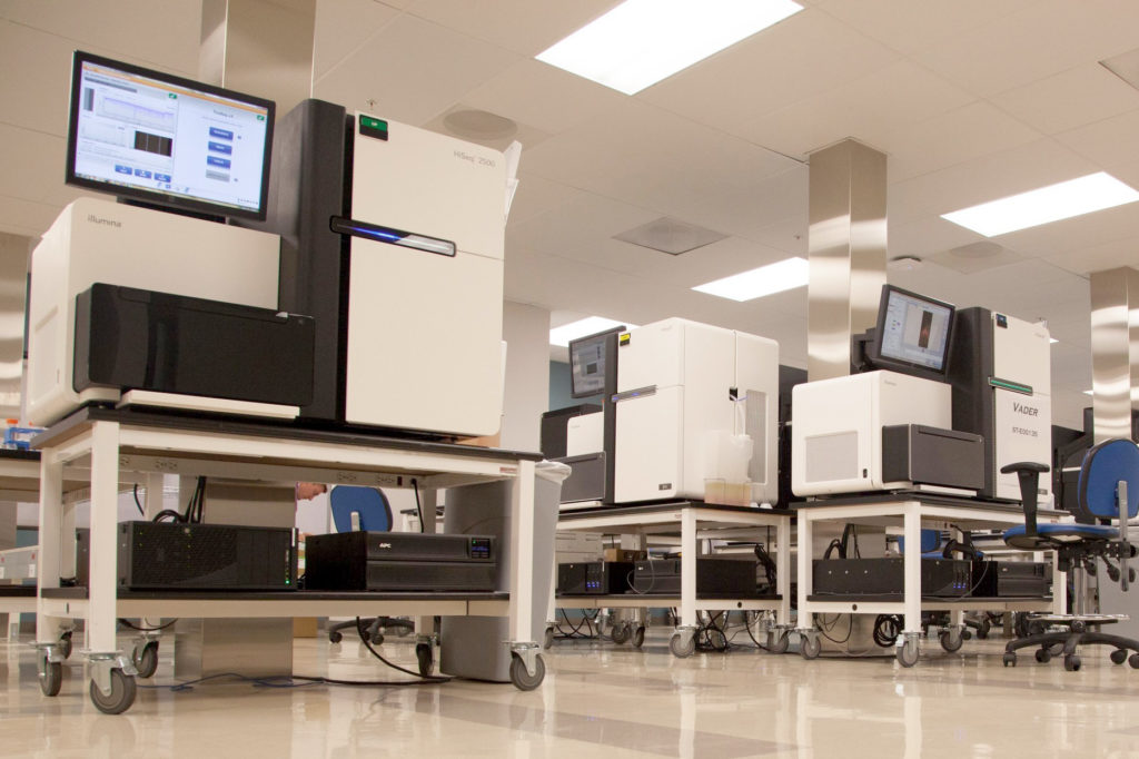 Human Longevity, Inc. DNA Sequencing Facility