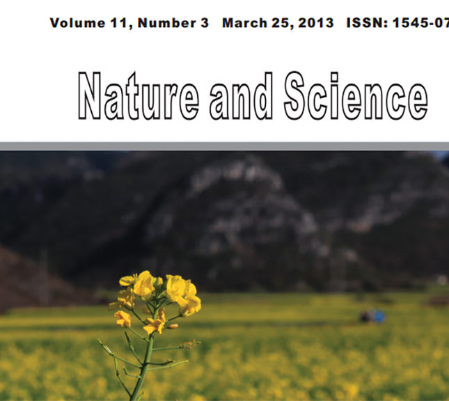 Marsland Press Nature And Science