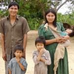 A Tsimane family.