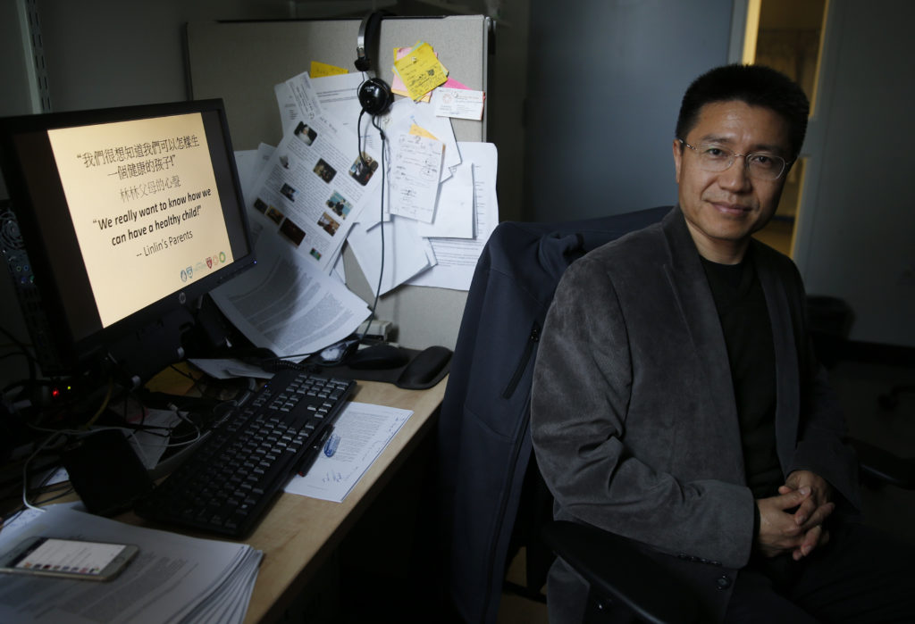 Dr. Yiping Shen is one of many scientists worldwide trying to help a Chinese family figure out the basis of their son's undiagnosed genetic disorder.