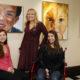 Boston, Massachusetts -- 11/25/2015- Patricia Weltin, (C) the organizer of Beyond the Diagnosis art exhibit poses for a portrait with her two daughters Olivia, 19, (R) and Hana, 16,  inside Gordon Hall in Boston, Massachusetts November 25, 2015. Jessica Rinaldi/Globe Staff Topic: STATLongwood_Photo Reporter: