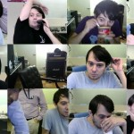 Screen captures from Martin Shkreli's YouTube feed.
