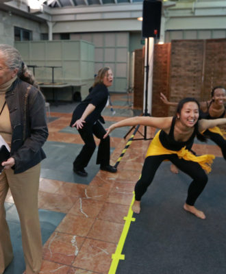 Dr. Ronald Arky and Dr. Nancy Oriol joined the fun at a recent Harvard dance event that was part of the school's Arts and Humanities Initiative for physicians in training.