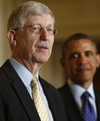 Barack Obama, Francis Collins