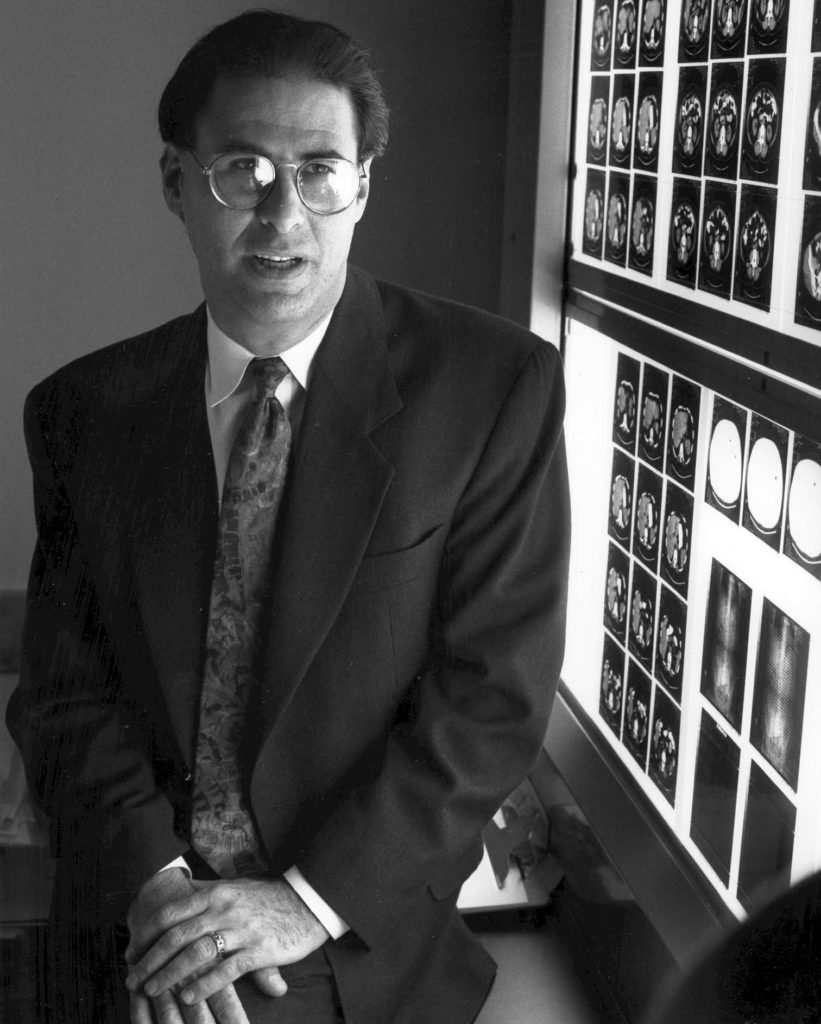 Lee Nadler at the Dana-Farber Cancer Institute in the early 1980s.