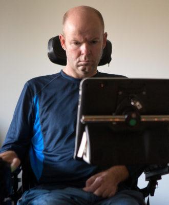 ALS patient Todd Quinn