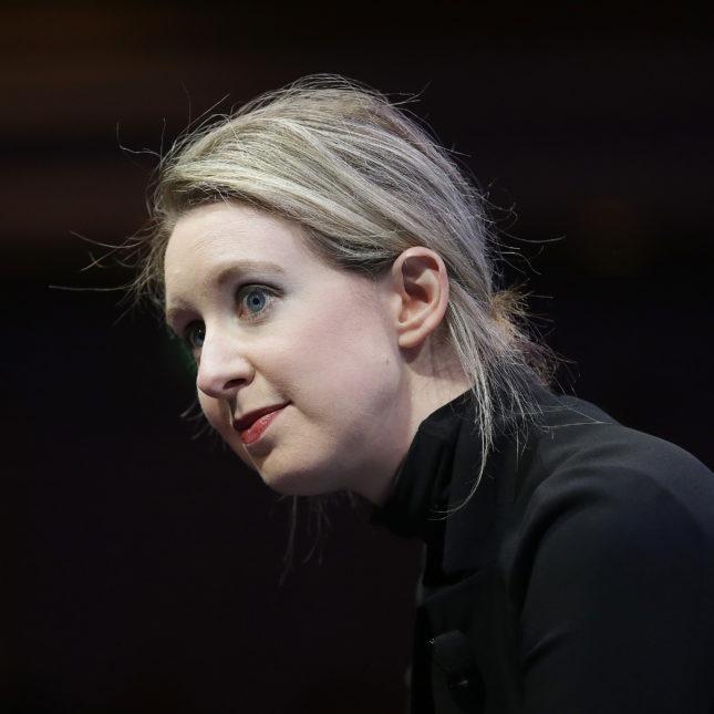 Elizabeth Holmes Theranos
