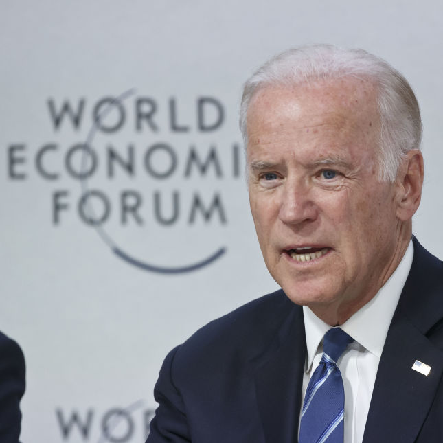 Joe Biden Switzerland Davos Forum