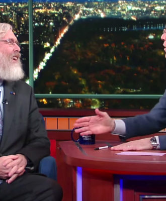 George Church & Stephen Colbert