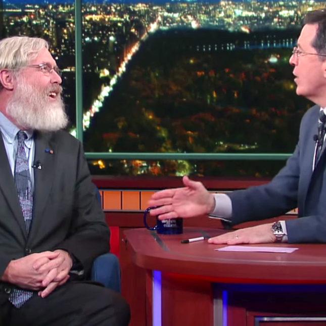 George Church & Stephen Colbert