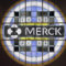 In this Thursday, Dec.18, 2014 photograph, the Merck logo is seen on a stained glass panel at a Merck company building in Kenilworth, N.J. (AP Photo/Mel Evans)