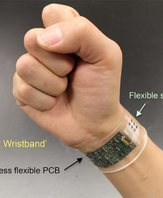 This wrist monitor continuously measures chemicals in your sweat.
