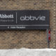 This Saturday, Jan. 24, 2015 photo shows the exterior of Abbvie, in Lake Bluff, Ill.  AbbVie Inc. on Thursday, April 23, 2015 reported first-quarter net income of $1.02 billion. On a per-share basis, the North Chicago, Illinois-based company said it had net income of 63 cents. Earnings, adjusted for severance costs and non-recurring costs, were 94 cents per share.    (AP Photo/Nam Y. Huh)