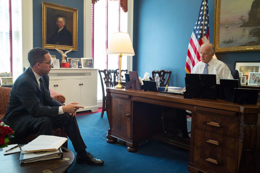 Joe Biden and Don Graves