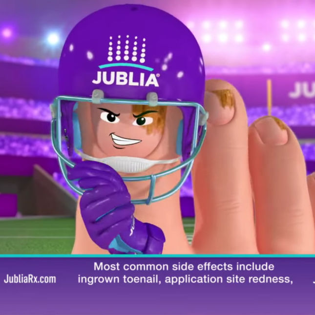 Jublia Superbowl Ad