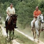Reagan and Bush