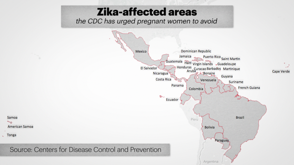 ZIKA CDC MAP