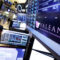 A trading post on the floor of the New York Stock Exchange displays the Valeant Pharmaceuticals logo, Tuesday, March 15, 2016. Valeant Pharmaceuticals cut its estimates for 2016 and said it could default on some of its debt if it does not complete required financial statements by late April. (AP Photo/Richard Drew)