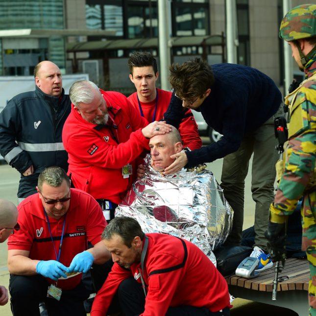 BELGIUM attack - March 22