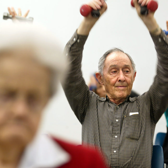 Aging exercise - Gut check