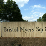 ** FILE ** A sign stands in front of the Bristol-Myers Squibb Company's headquarters in a Lawrence Township, N.J. file photo from June 15, 2005. Schering-Plough Corp. may be planning a bid for troubled drug maker Bristol-Myers Squibb Co., trumping foreign pharmaceutical makers who were widely seen as the most likely to make acquisition offers. (AP Photo/Mel Evans, File)