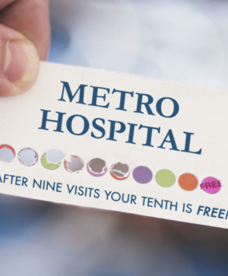 HOSPITAL PUNCH CARD
