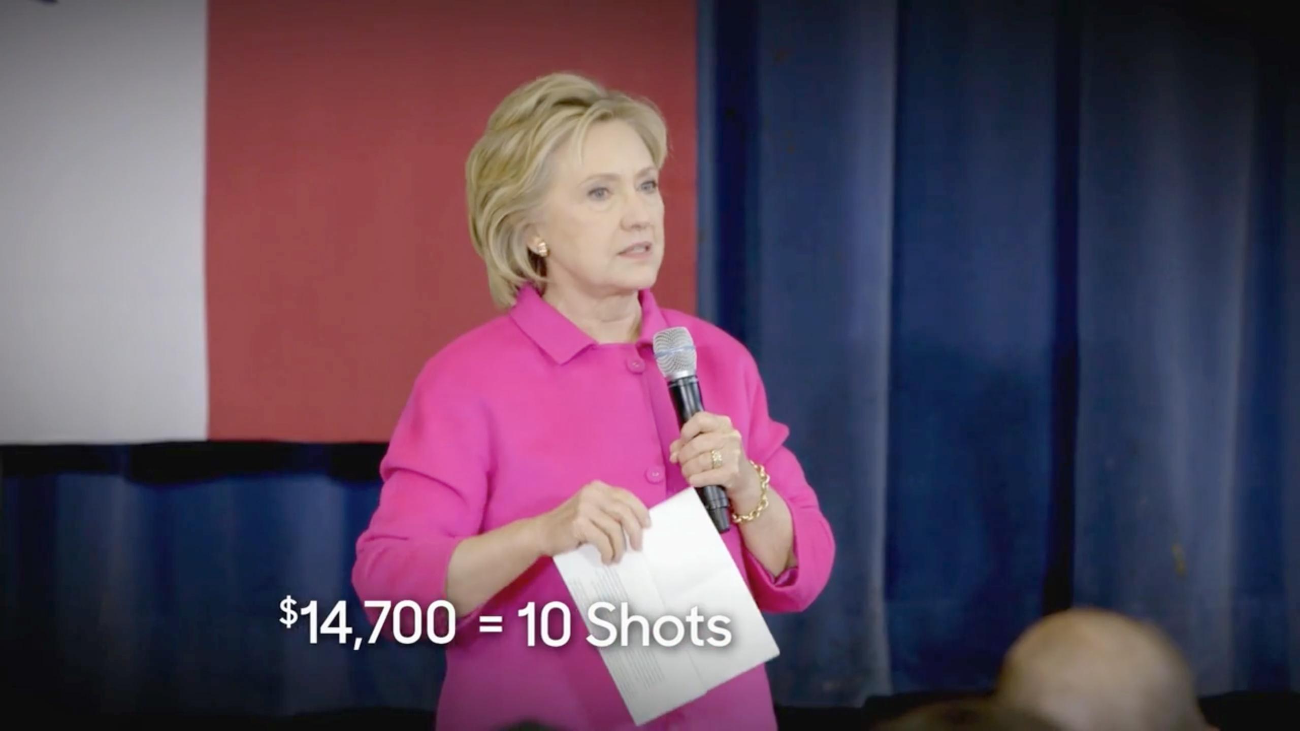 Clinton Valeant Ad