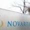 A logo sign outside of a facility occupied by Novartis International AG in Morristown, New Jersey on November 22, 2015. Photo by Kristoffer Tripplaar *** Please Use Credit from Credit Field ***
