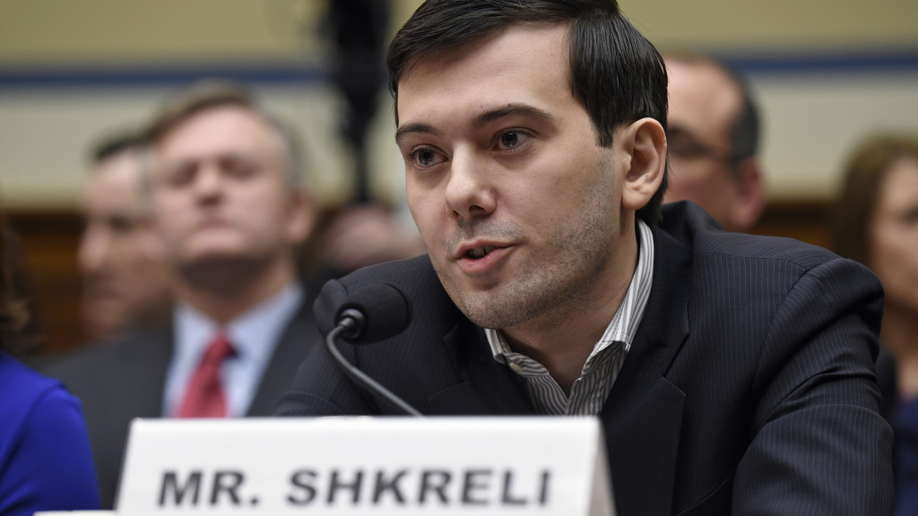 Martin Shkreli's drug company is losing money — and its salesforce feels cheated