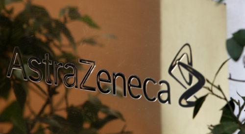 AstraZeneca signage