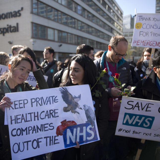 Britain Doctors Strike