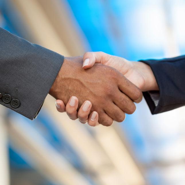 Handshake merger