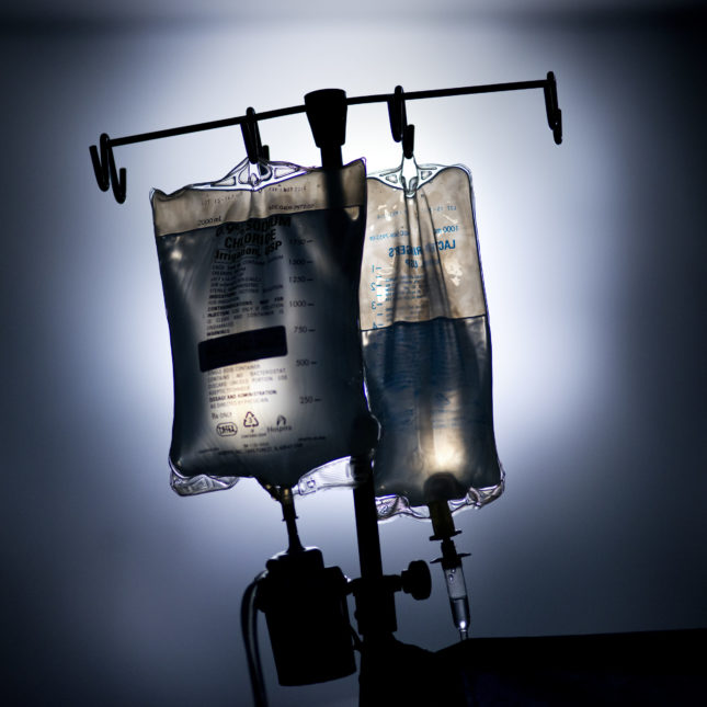 IV transplant surgery