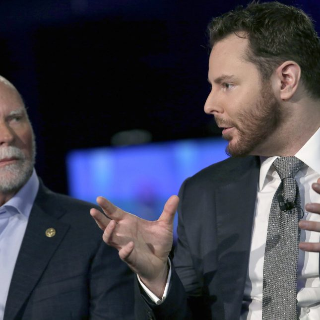 Sean Parker & Craig Venter