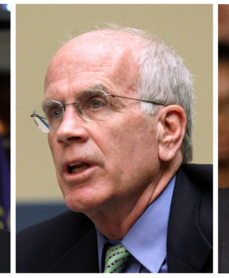 Lloyd Doggett, Peter Welch, Bernie Sanders