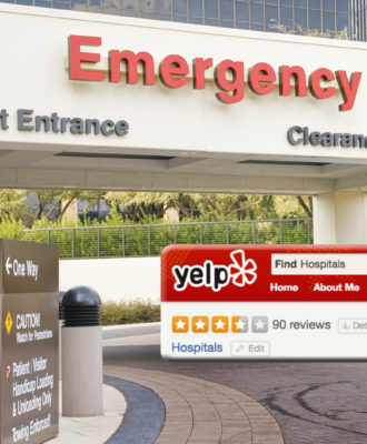Yelp hospital reviews