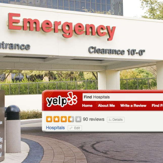 Image result for yelp hospital reviews