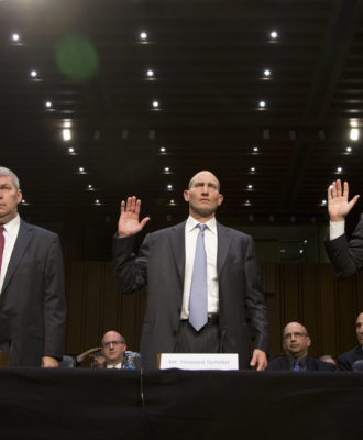 Michael Pearson, Howard Schiller, William Ackman