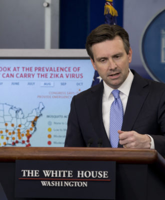 Josh Earnest ZIKA