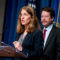 Health and Human Services Secretary Sylvia Burwell, accompanied by Food and Drug Administration (FDA) Commissioner Dr. Robert Califf, speaks during a news conference at the Hubert H. Humphrey Building in Washington, Thursday, May 5, 2016, to announce new regulation extending the FDA's authority to all tobacco products including e-cigarettes. (AP Photo/Andrew Harnik)