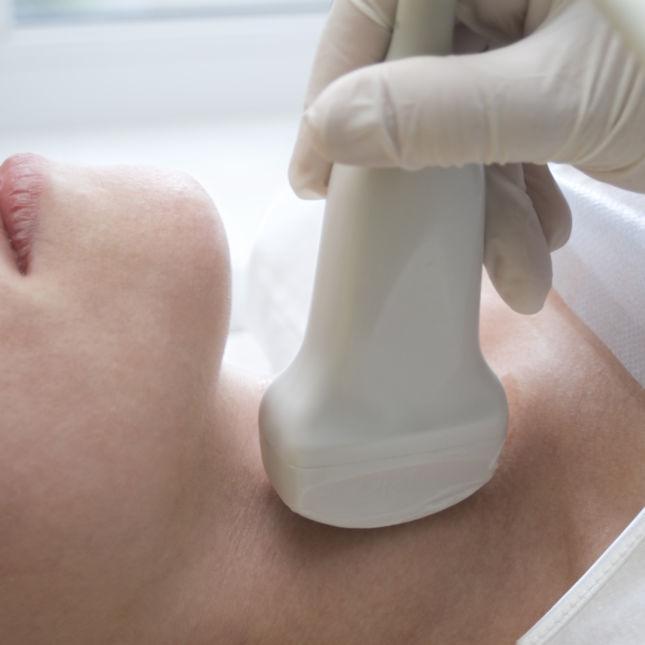 Throat ultrasound