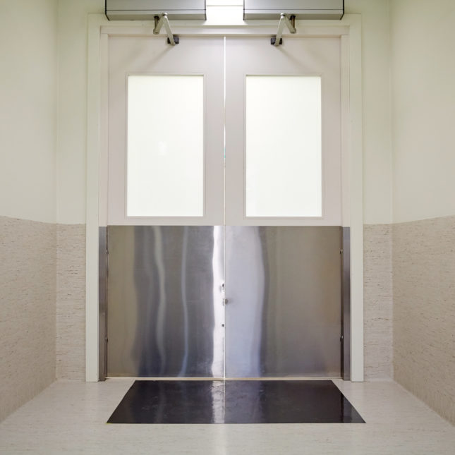 Lab doors