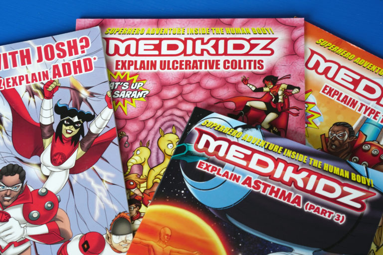 Medical Comic Books