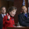 Rep. Jan Schakowsky, D-Ill., joined by Rep. Juan Vargas, D-Calif., left, and Rep. Luis Gutierrez, D-Ill., a leading advocate in the House for comprehensive immigration reform, speaks during a news conference on Capitol Hill in Washington, Tuesday, Jan. 13, 2015, on the implementation of President Barack Obama's executive actions to spare millions from immediate deportation.  (AP Photo/J. Scott Applewhite)