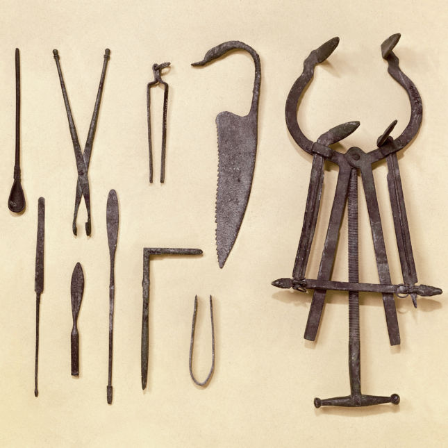 Graeco-Roman surgical instruments.