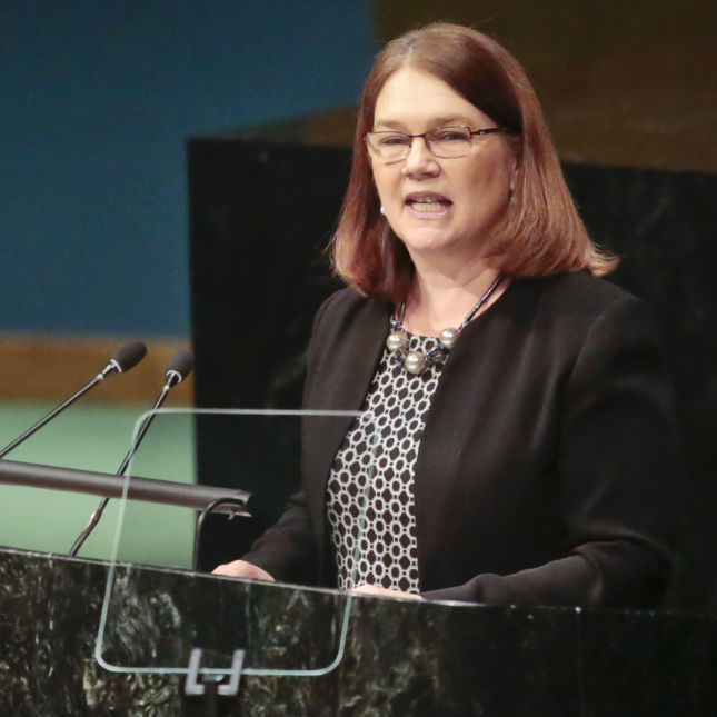Canadian Health Minister Jane Philpott