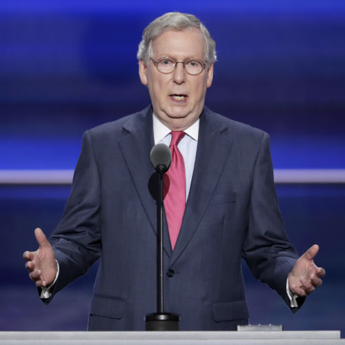McConnell Eviscerates Hillary at RNC: Scandals 'Follow the Clintons Like Flies'