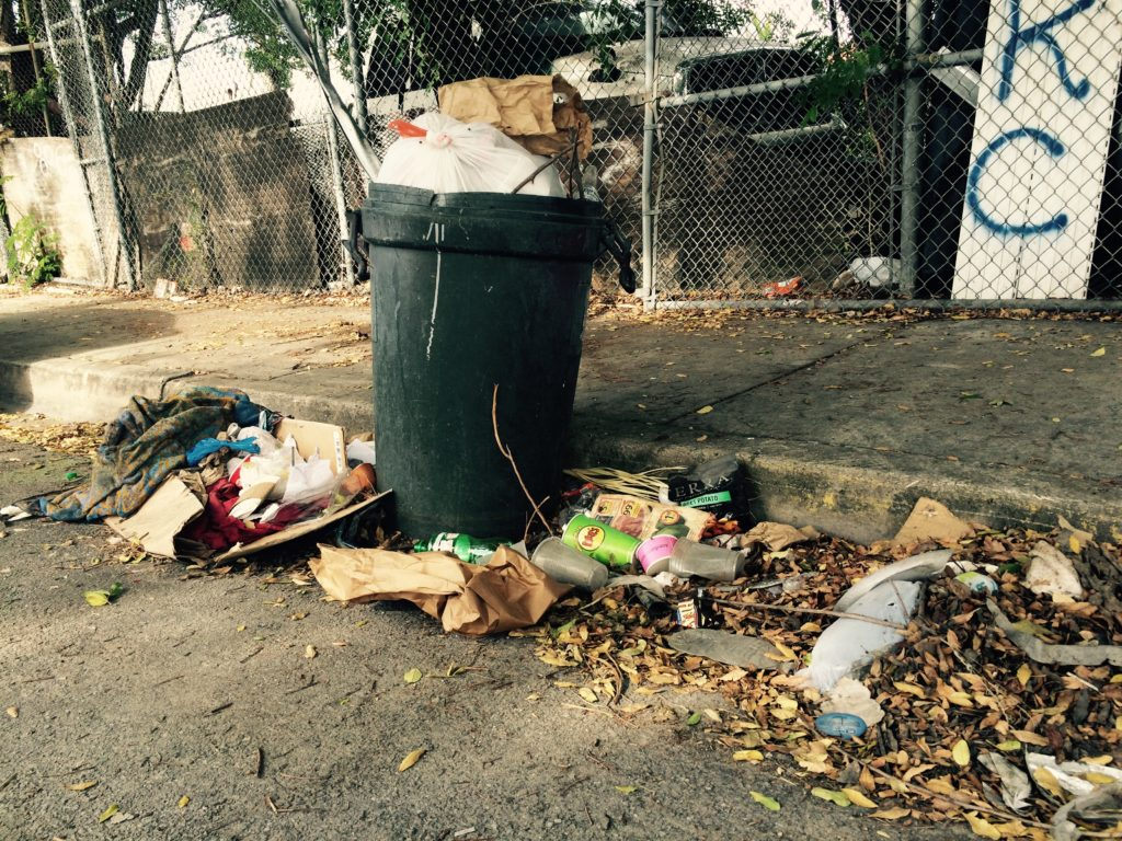 Miami trash heap