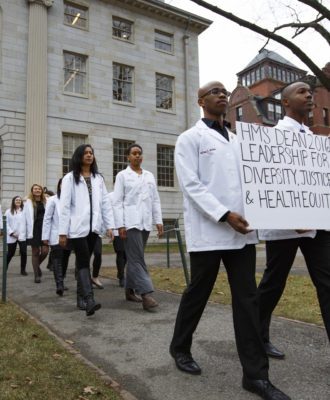 Harvard med petition